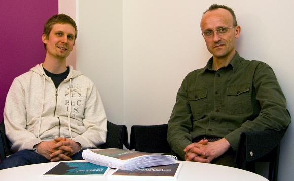 Joel Håkansson och Björn Westling Årets FFSare 2010